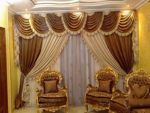 Modern Curtain Designs For Living Room 10