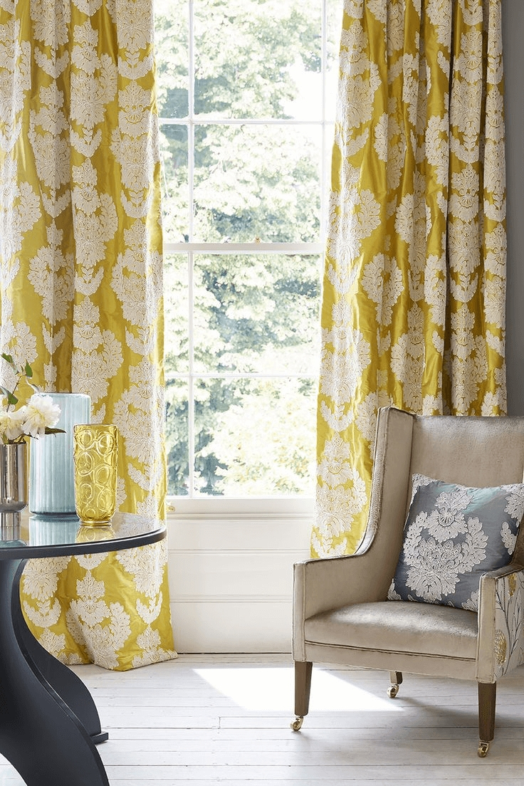 Modern Curtain Designs For Living Room 12