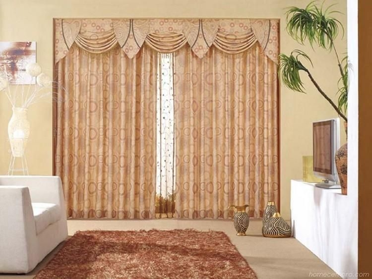 Modern Curtain Designs For Living Room 14