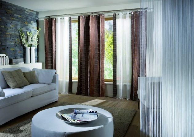 Modern Curtain Designs For Living Room 16