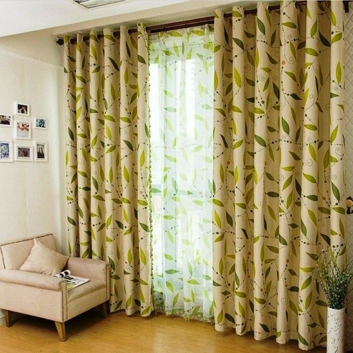 Modern Curtain Designs For Living Room 20