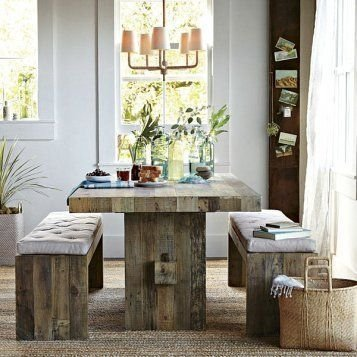 Modern Diy Wooden Dining Tables Ideas 02
