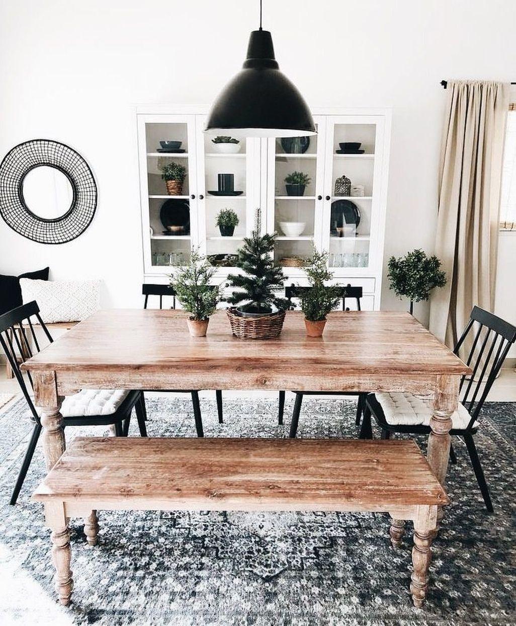 Modern Diy Wooden Dining Tables Ideas 13
