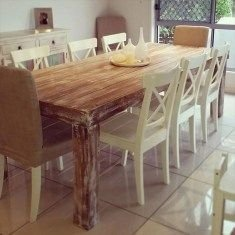 Modern Diy Wooden Dining Tables Ideas 19