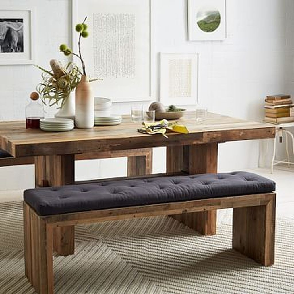 Modern Diy Wooden Dining Tables Ideas 21