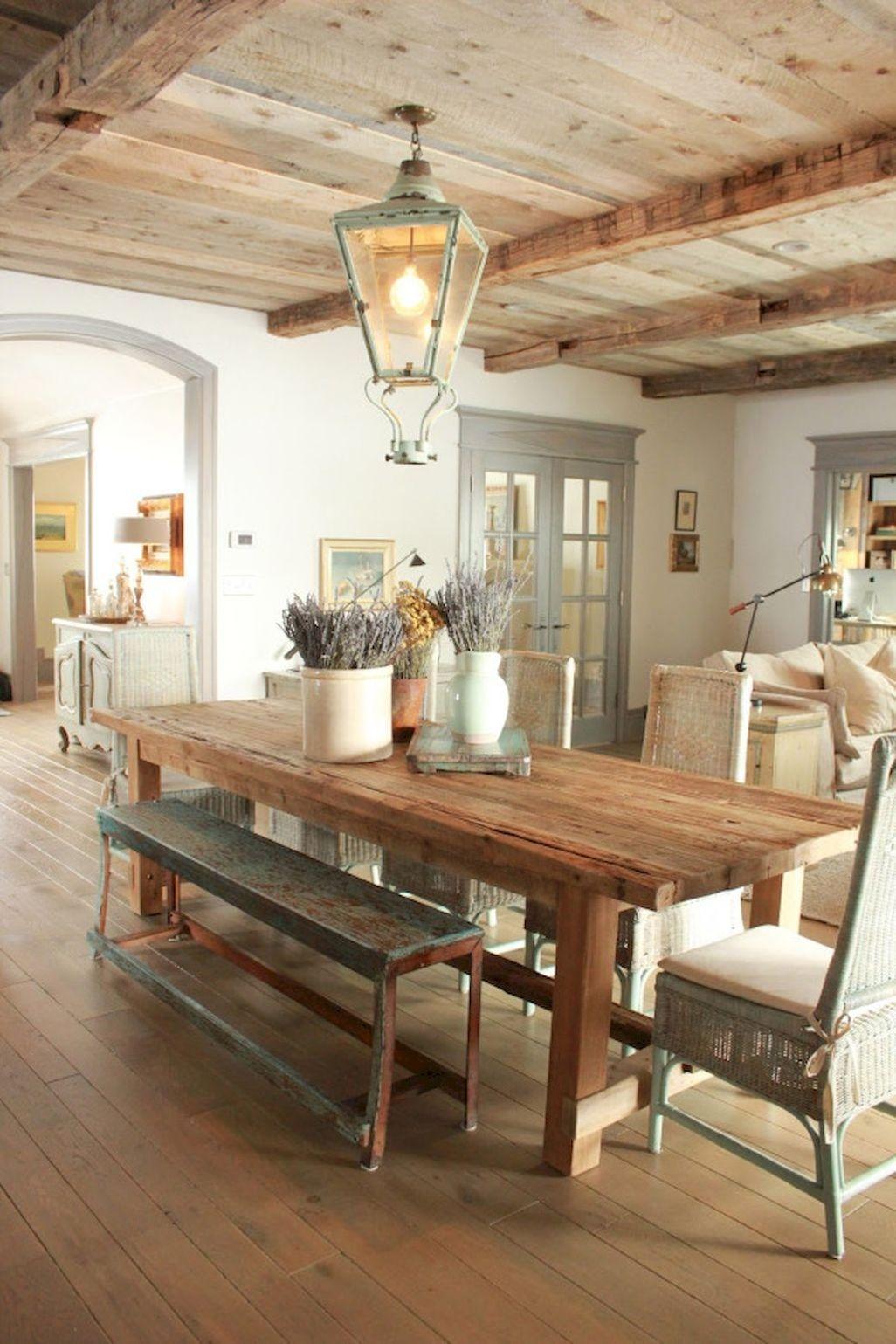 Modern Diy Wooden Dining Tables Ideas 22