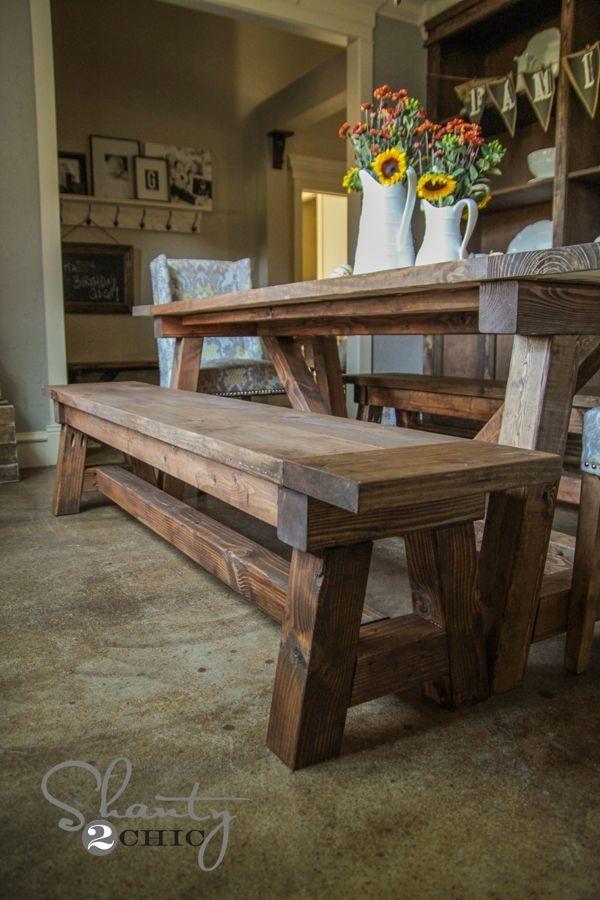 Modern Diy Wooden Dining Tables Ideas 45