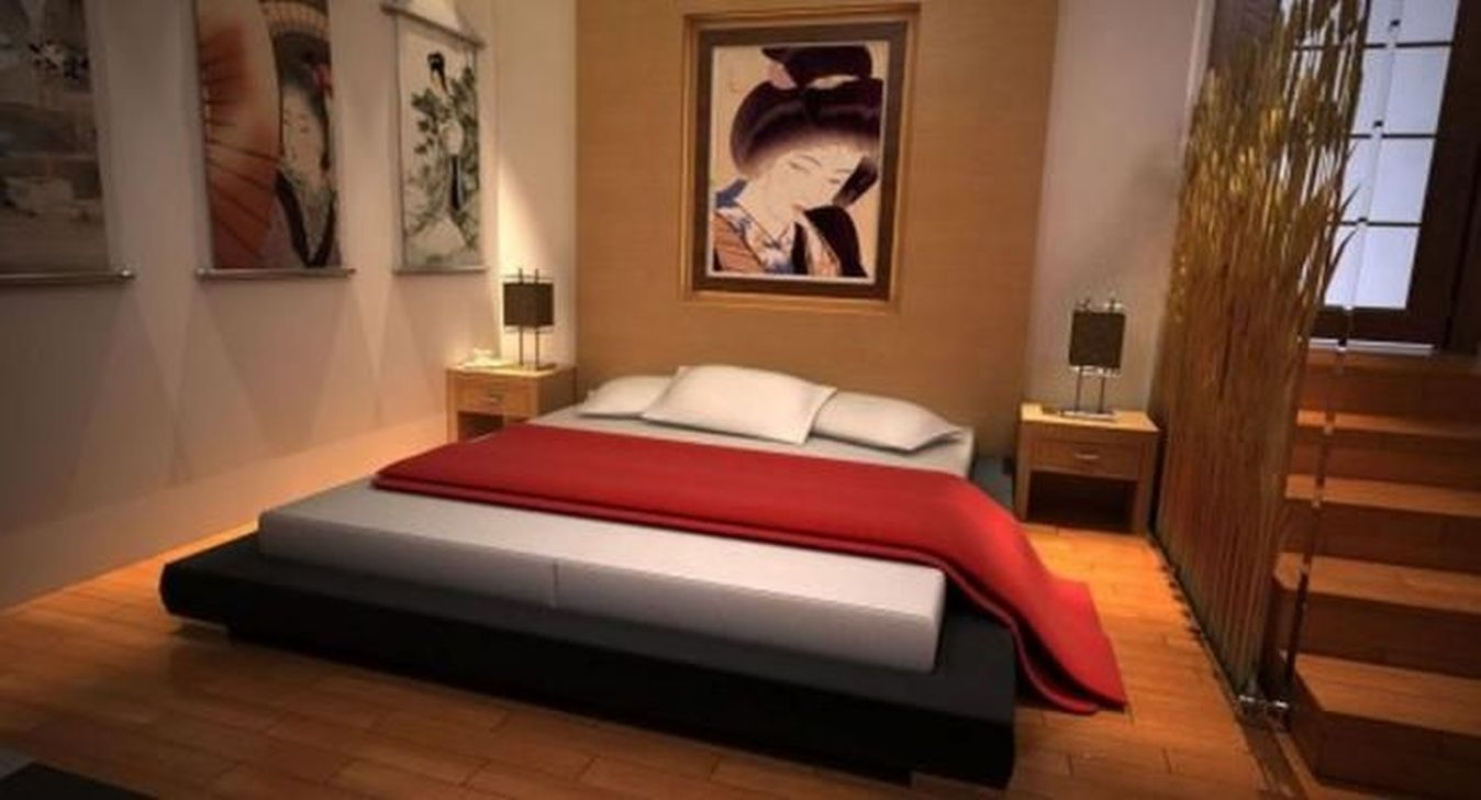 Modern But Simple Japanese Styled Bedroom Design Ideas 39