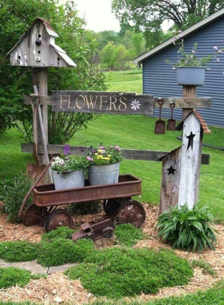 RSimple Rock Garden Decor Ideas For Front And Back Yard 03