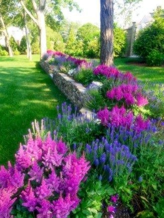 RSimple Rock Garden Decor Ideas For Front And Back Yard 07