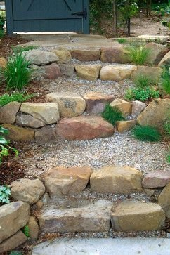 RSimple Rock Garden Decor Ideas For Front And Back Yard 11
