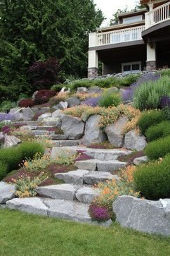 RSimple Rock Garden Decor Ideas For Front And Back Yard 15