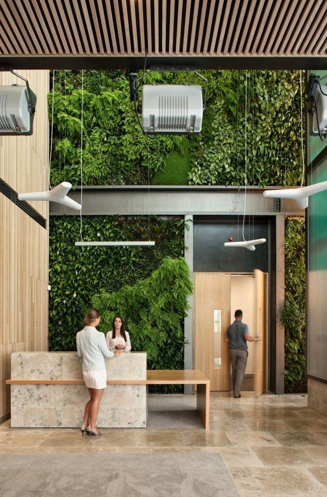 Relaxing Green Office Décor Ideas 06