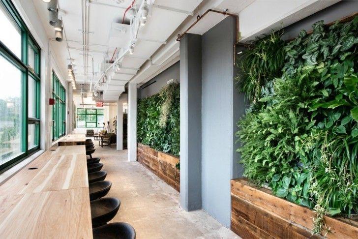 Relaxing Green Office Décor Ideas 11