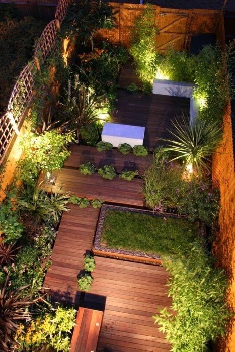 Relaxing Small Garden Design Ideas 07