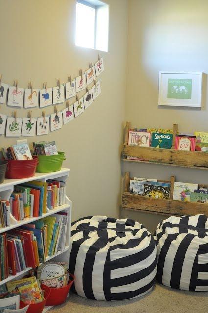 Simple Diy Book Nook Ideas For Kids 29