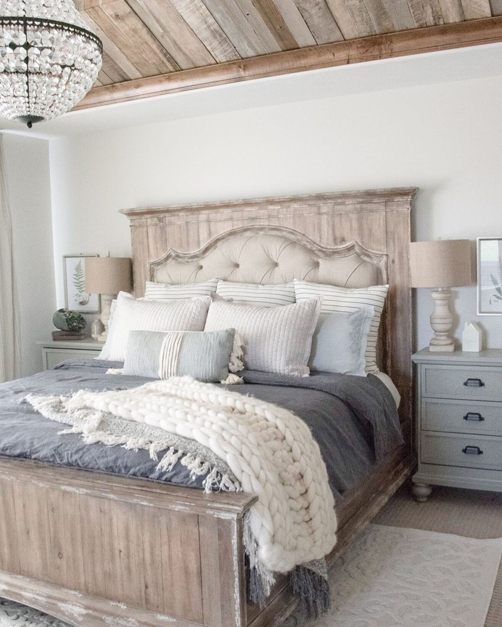 Vintage Nest Bedroom Decoration Ideas You Will Totally Love 32