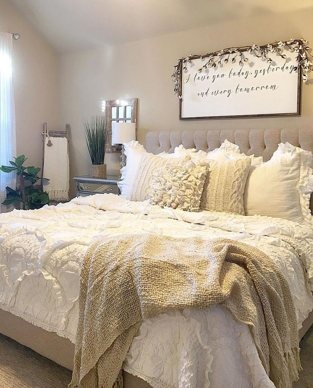 Vintage Nest Bedroom Decoration Ideas You Will Totally Love 39