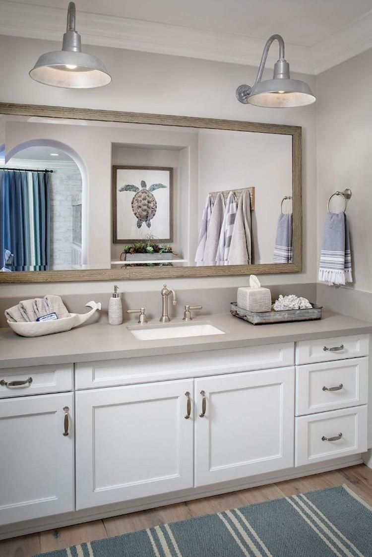 Awesome Bathroom Decor Ideas With Coastal Style 39