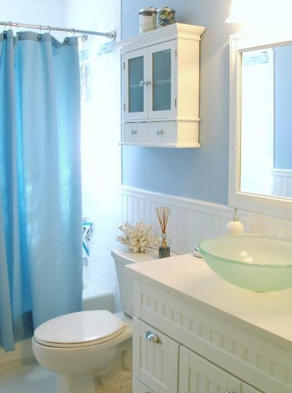 Awesome Bathroom Decor Ideas With Coastal Style 44