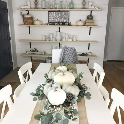 Awesome French Farmhouse Fall Table Design 04