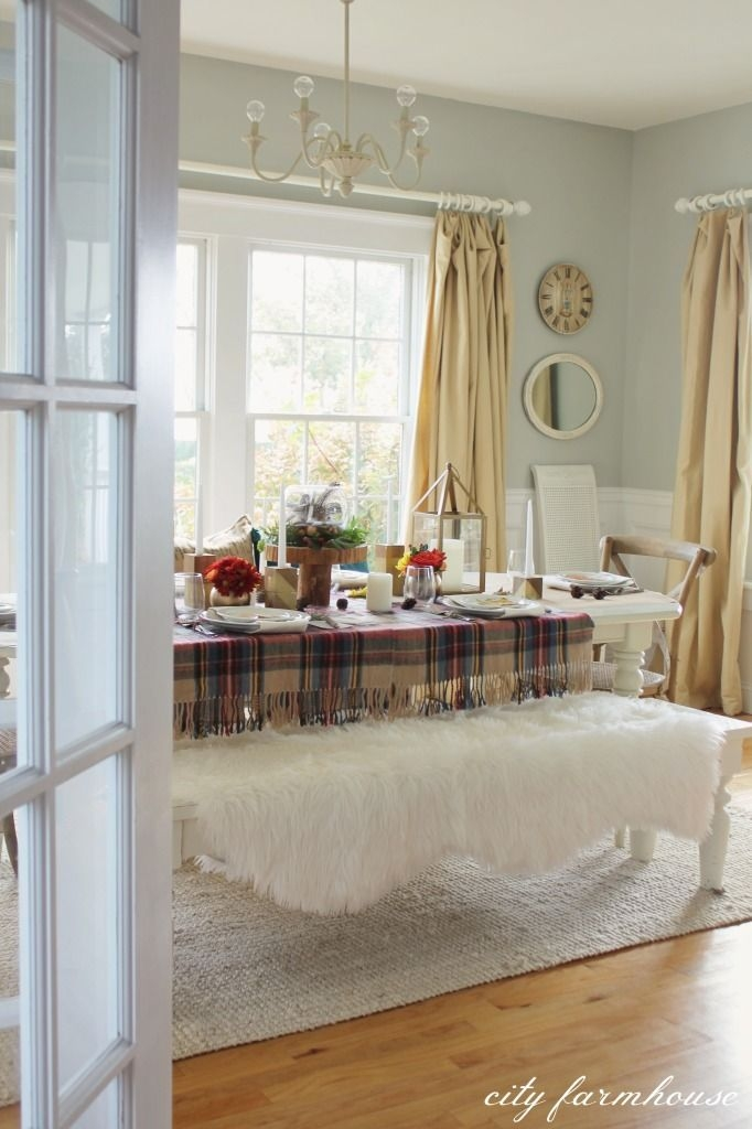 Awesome French Farmhouse Fall Table Design 12