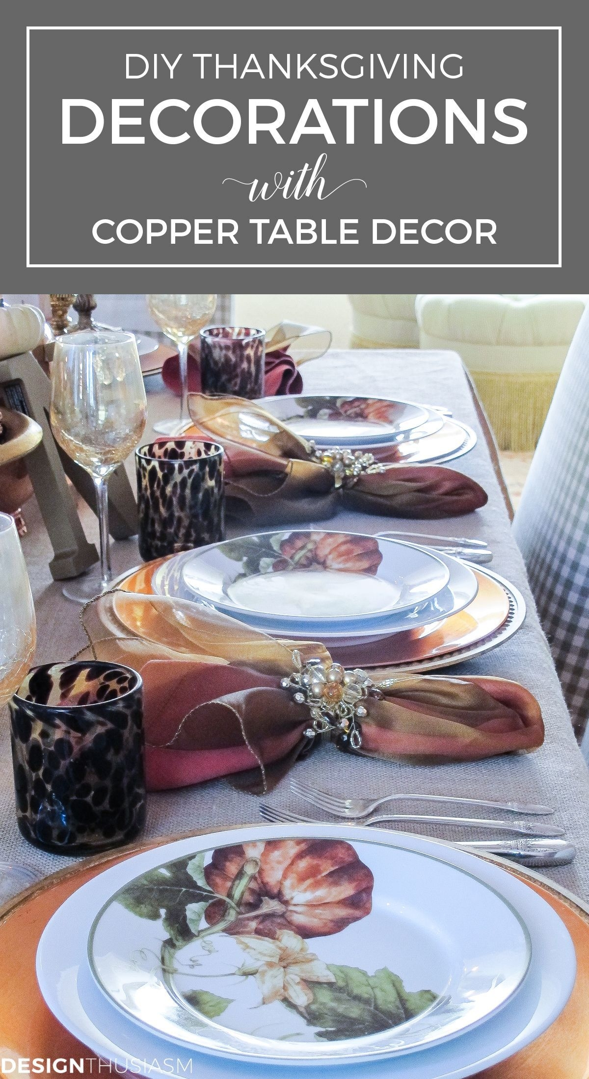 Awesome French Farmhouse Fall Table Design 24