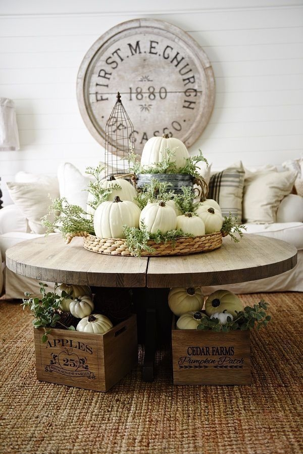 Awesome French Farmhouse Fall Table Design 25