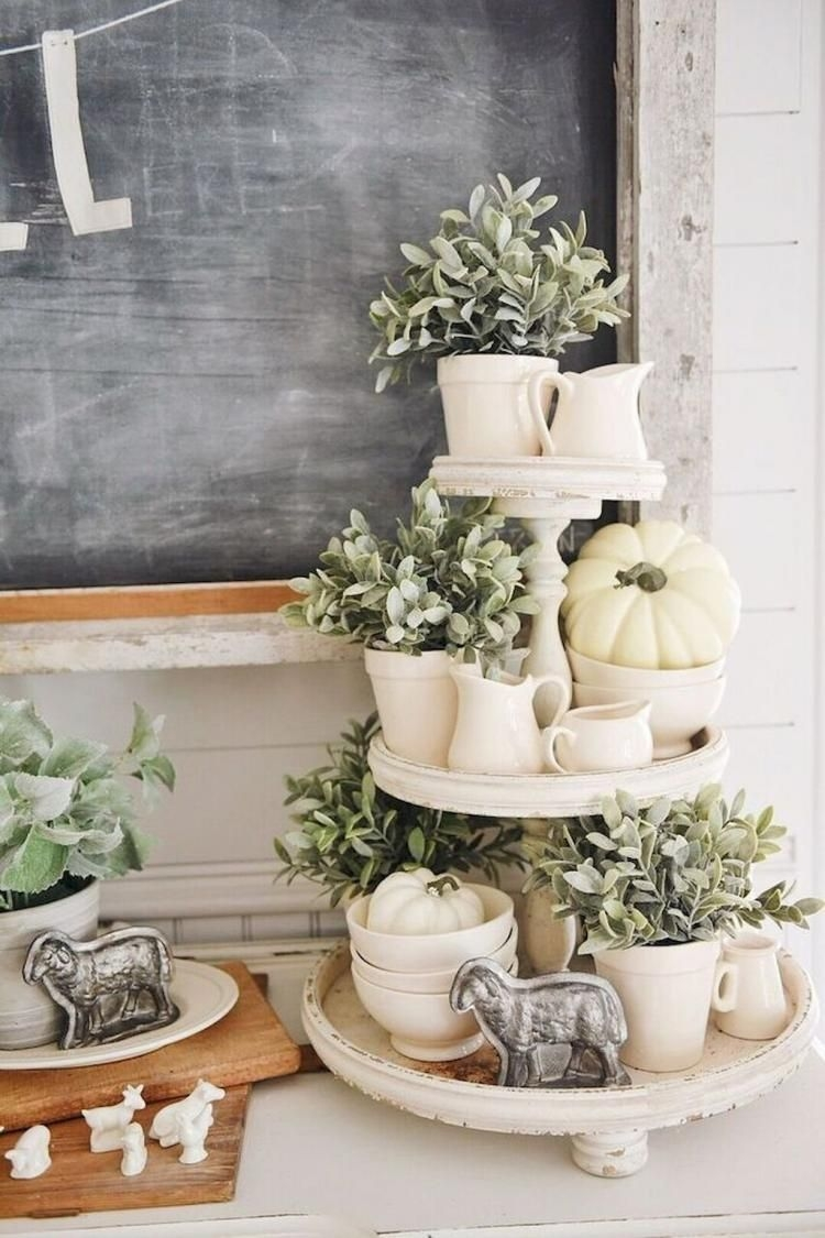 Awesome French Farmhouse Fall Table Design 43