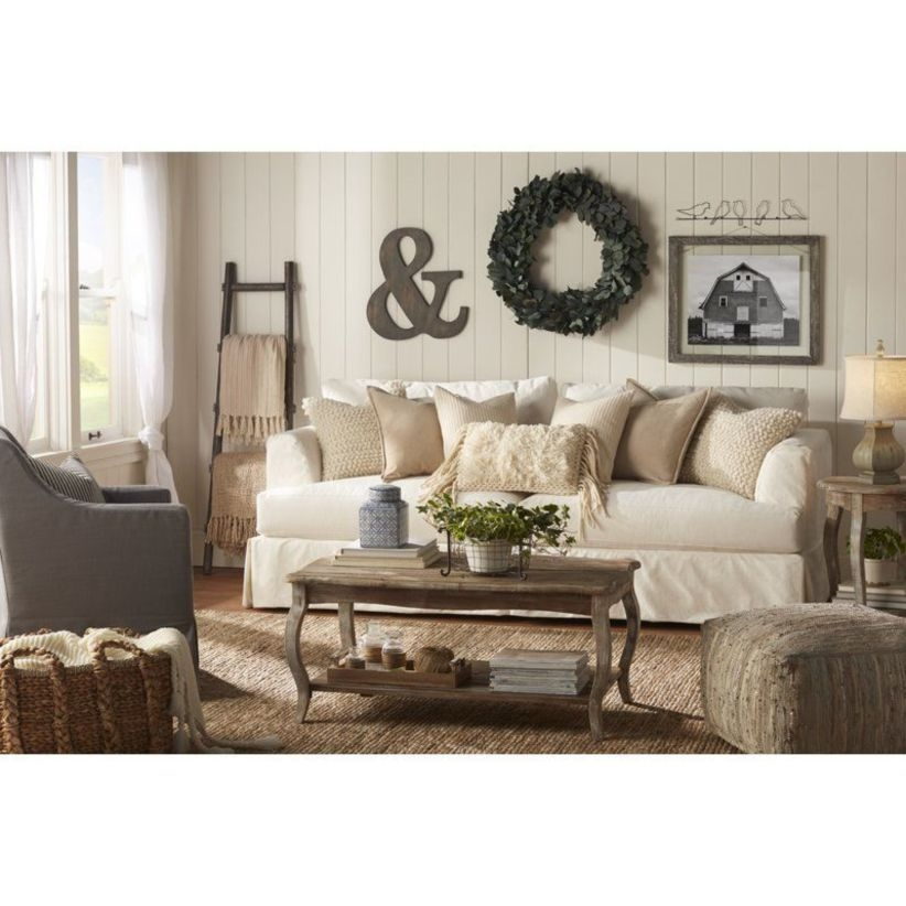 Comfy And Casual Farmhouse Home Design Ideas 18