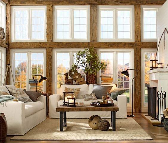 Comfy Rustic Living Room Decor Ideas 03