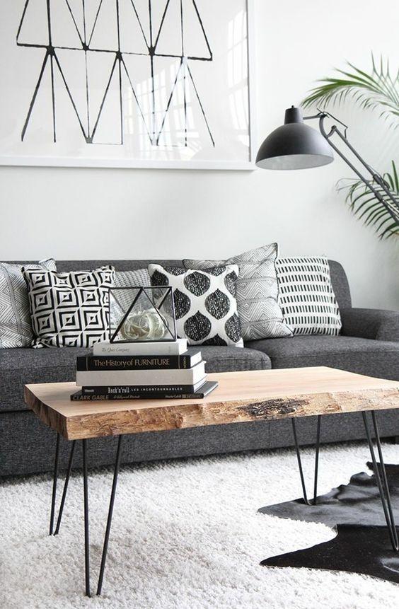 Comfy Rustic Living Room Decor Ideas 09
