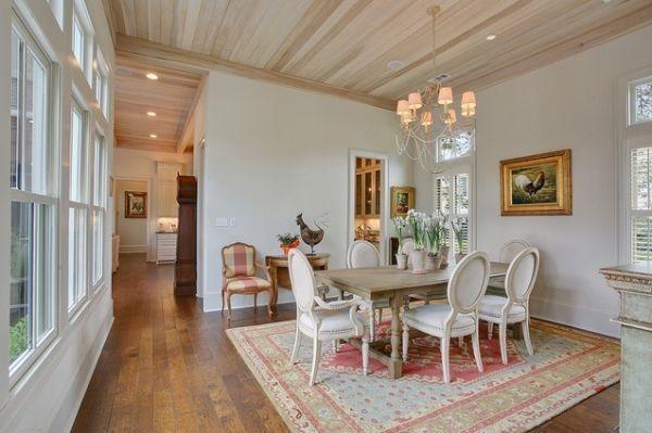 Creative Dining Room Rug Design Ideas 16