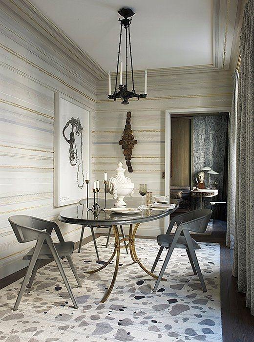 Creative Dining Room Rug Design Ideas 23