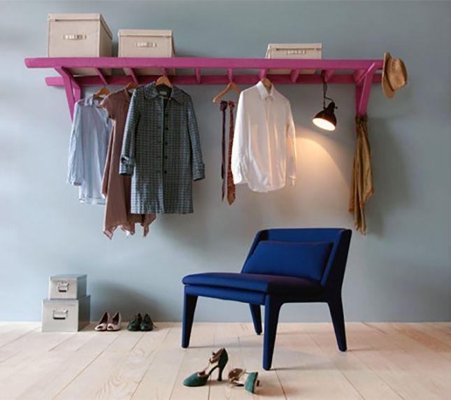 Easy And Practical Clothing Racks For Casual Décor Ideas 04