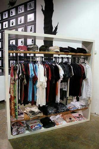 Easy And Practical Clothing Racks For Casual Décor Ideas 08