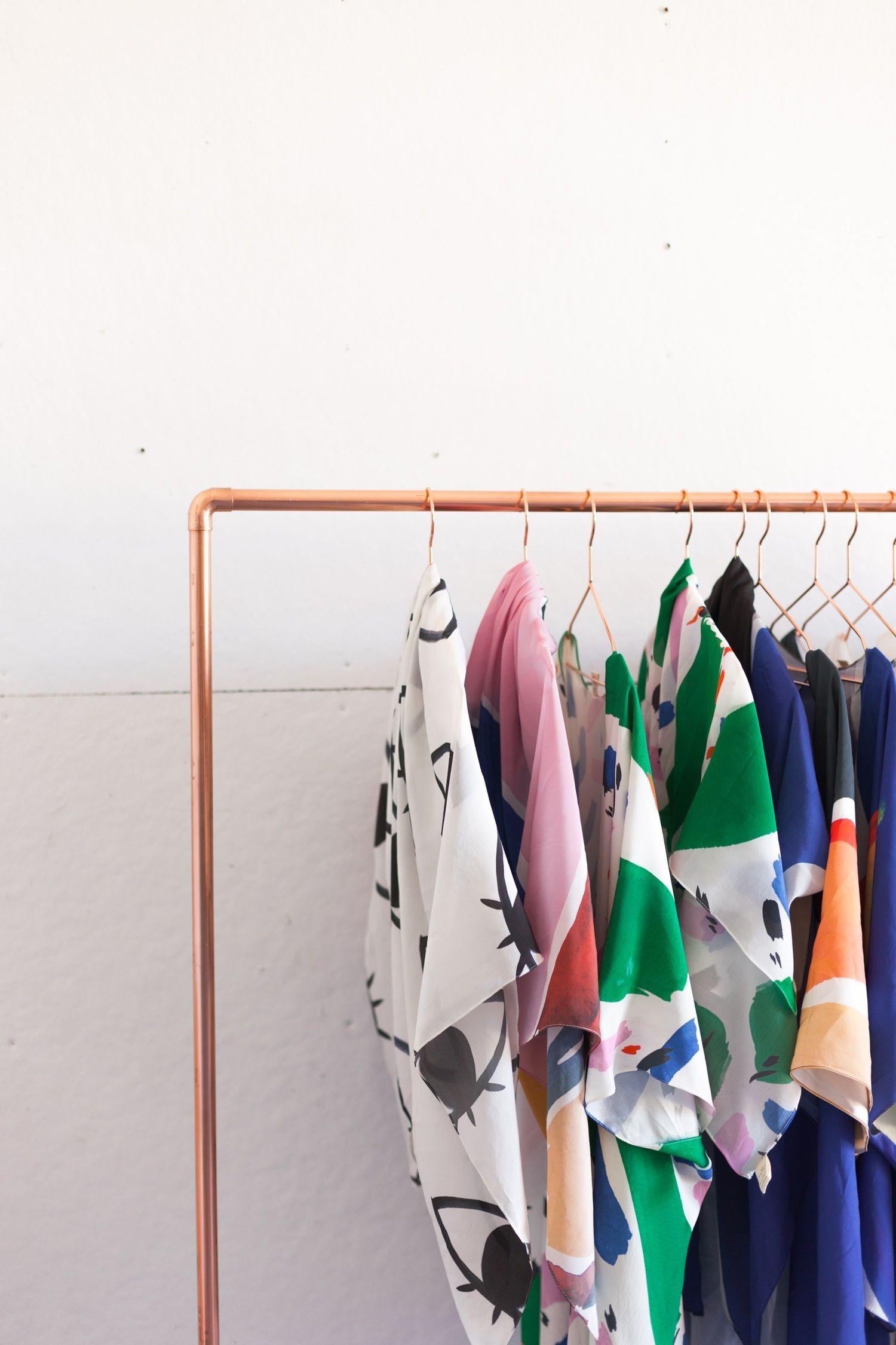 Easy And Practical Clothing Racks For Casual Décor Ideas 13