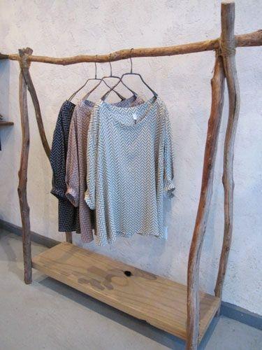 Easy And Practical Clothing Racks For Casual Décor Ideas 14