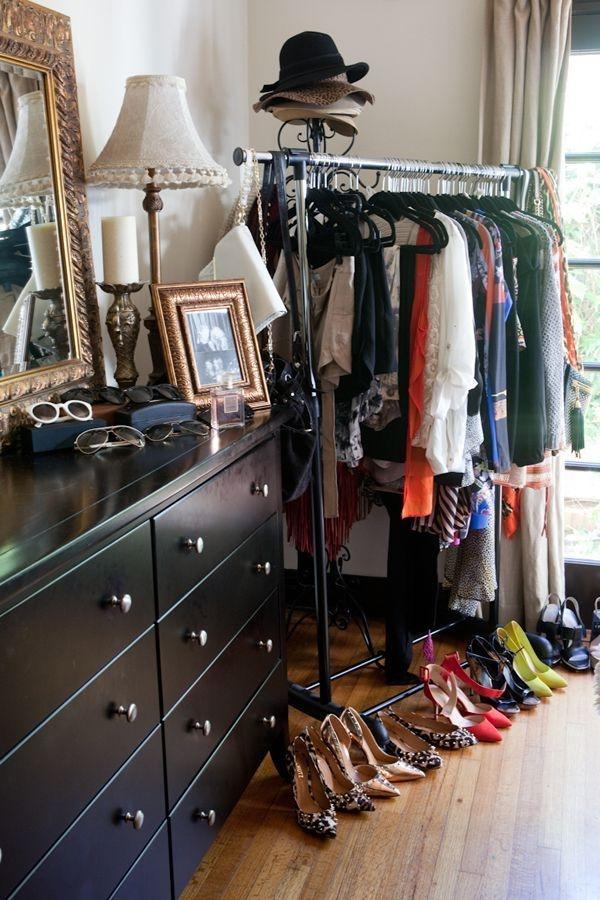 Easy And Practical Clothing Racks For Casual Décor Ideas 15