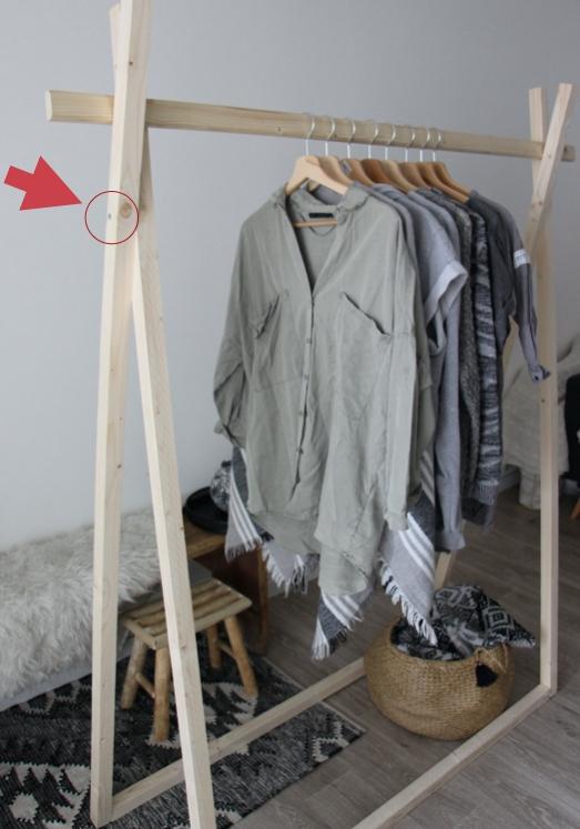 Easy And Practical Clothing Racks For Casual Décor Ideas 17