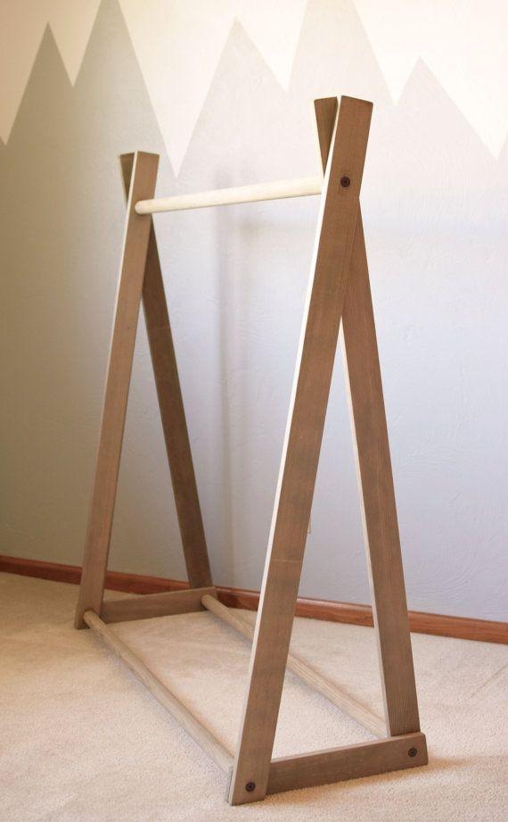 Easy And Practical Clothing Racks For Casual Décor Ideas 35