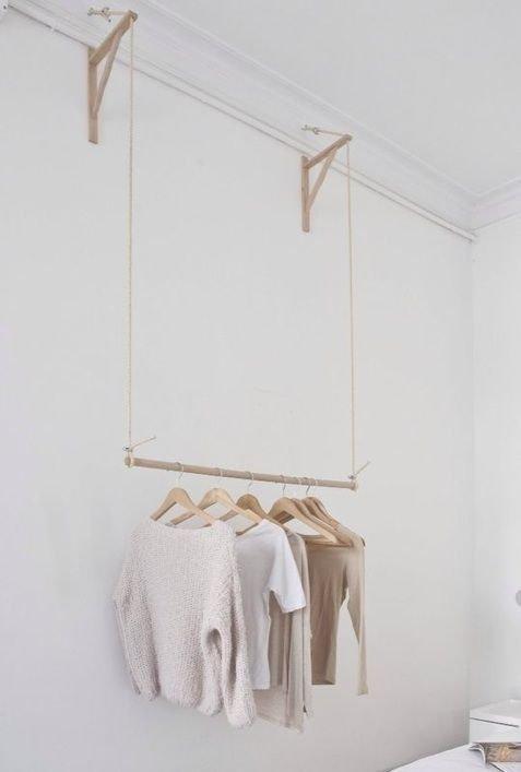 Easy And Practical Clothing Racks For Casual Décor Ideas 38
