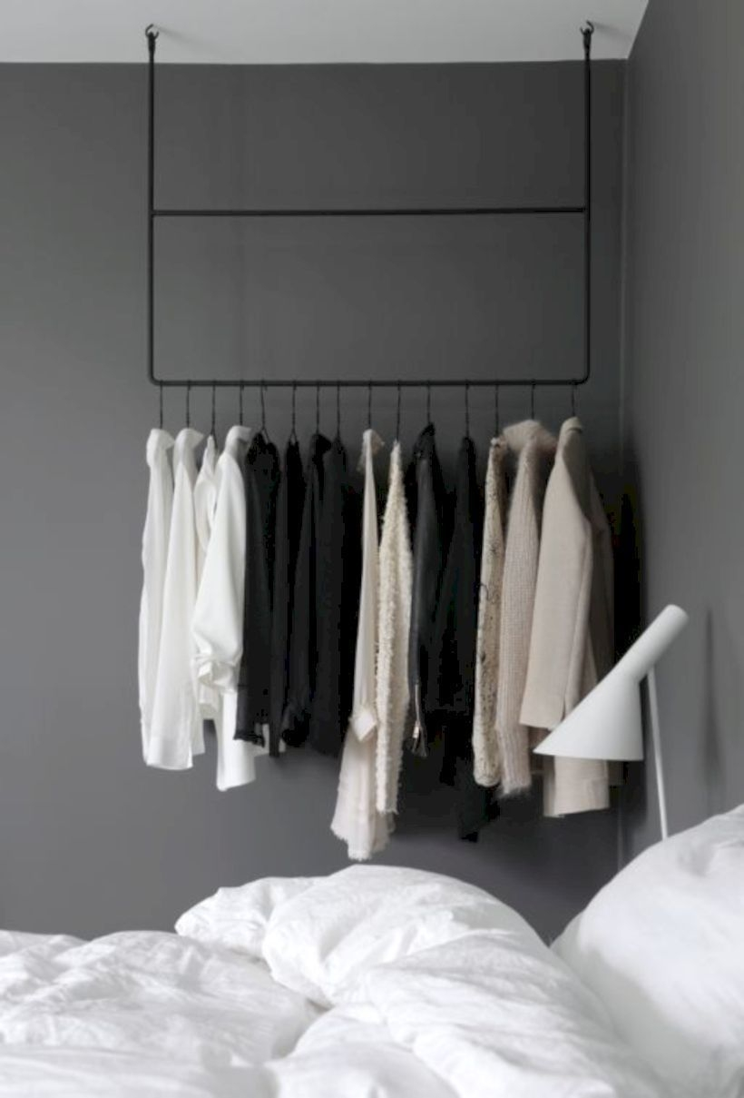 Easy And Practical Clothing Racks For Casual Décor Ideas 40