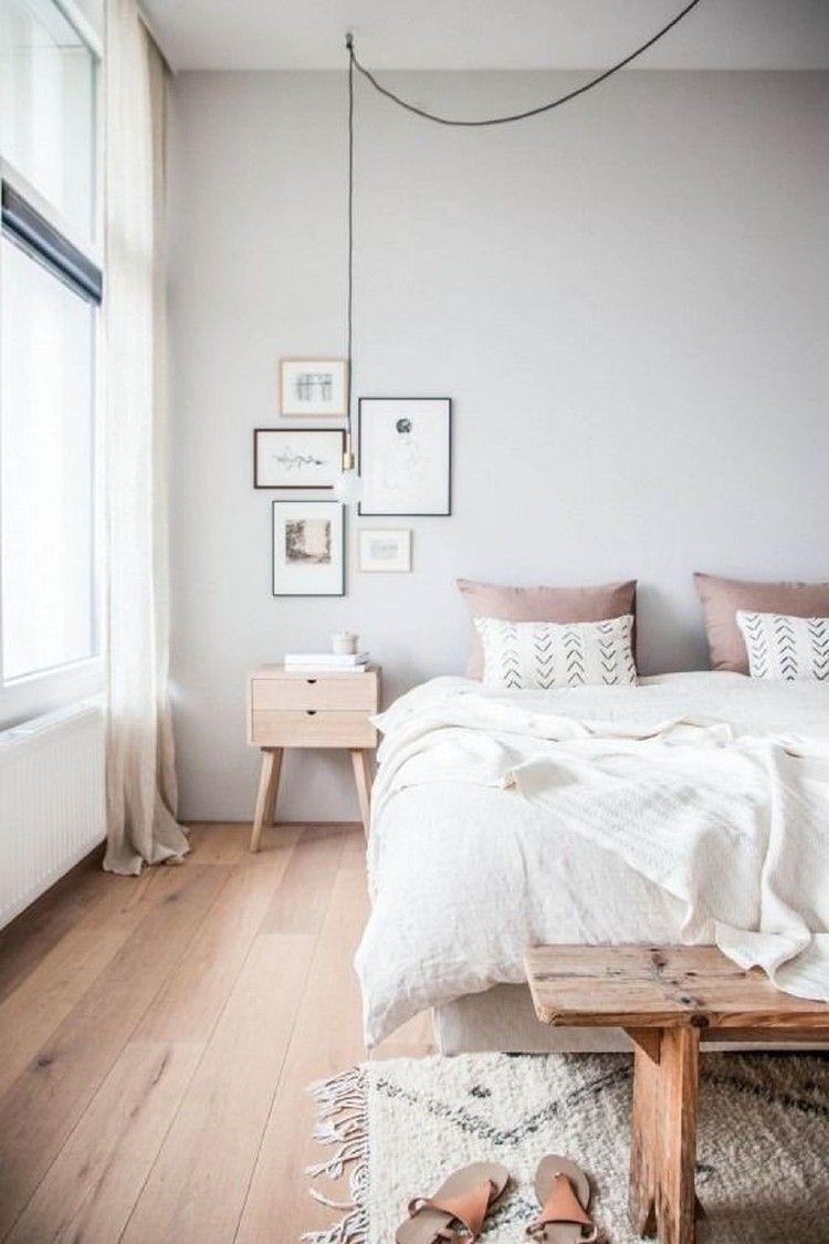 Easy Minimalist And Cozy Bedroom Decor Ideas 24
