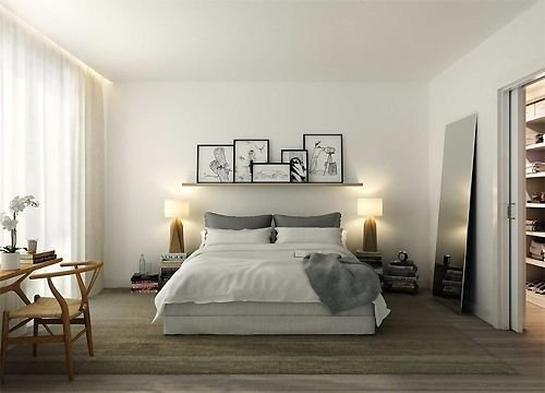 Easy Minimalist And Cozy Bedroom Decor Ideas 36