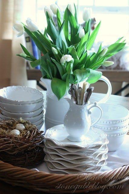 Magnificient Spring Kitchen Decor Ideas 16