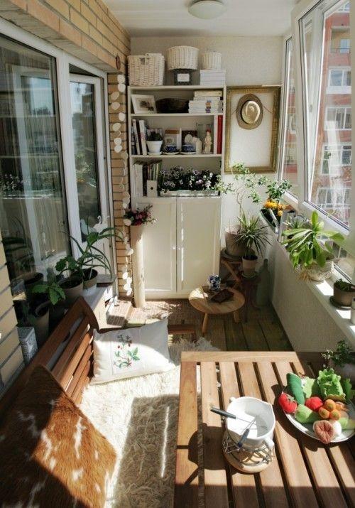 Perfect Small Balcony Design Ideas 27