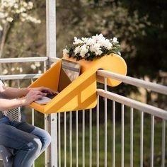 Perfect Small Balcony Design Ideas 32