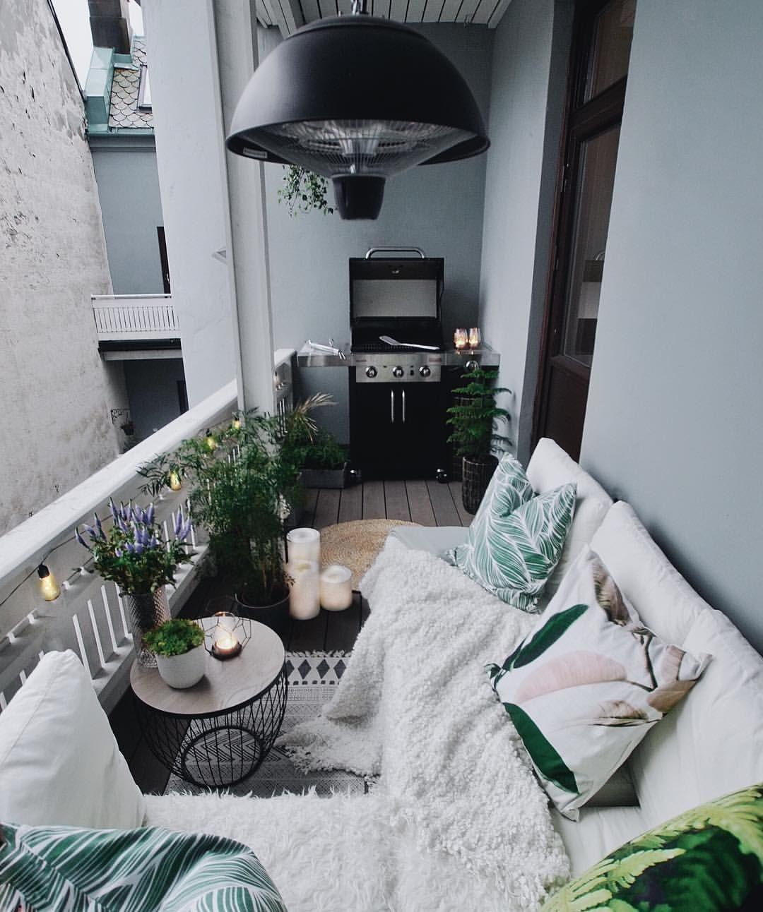 Perfect Small Balcony Design Ideas 33