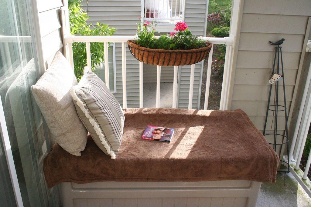 Perfect Small Balcony Design Ideas 36